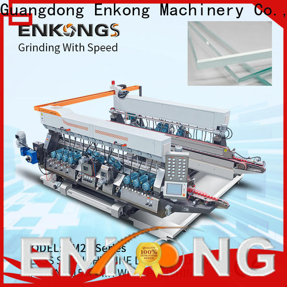 Enkong modularise design double edger machine company for round edge processing