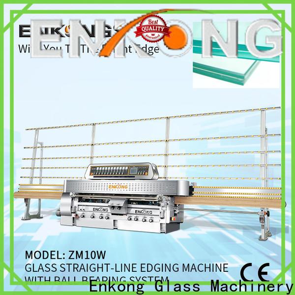 Enkong New glass straight line edging machine company for polish