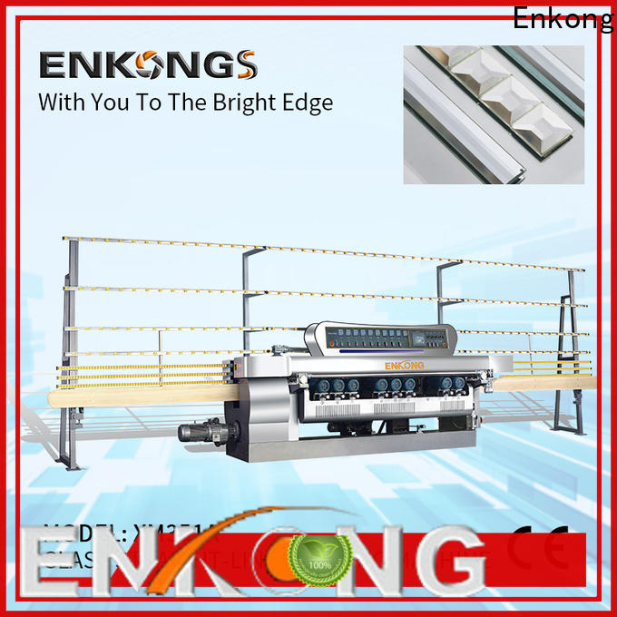 Enkong xm363a glass beveling machine for sale manufacturers for glass processing