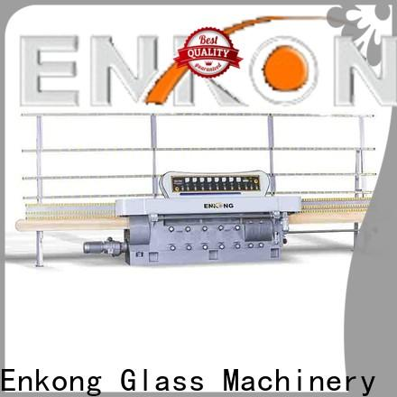 Enkong New glass cutting machine price supply for round edge processing