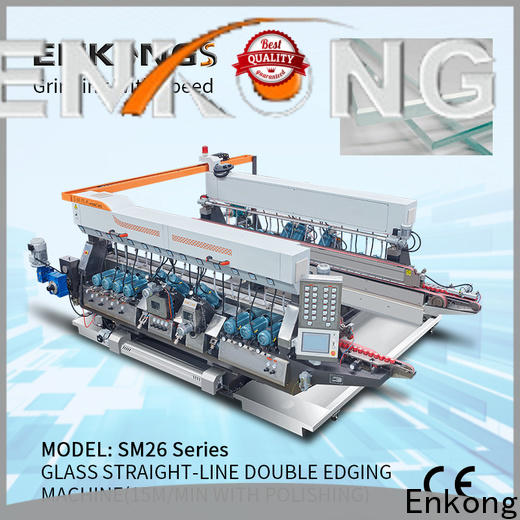 Enkong New glass double edger supply for photovoltaic panel processing