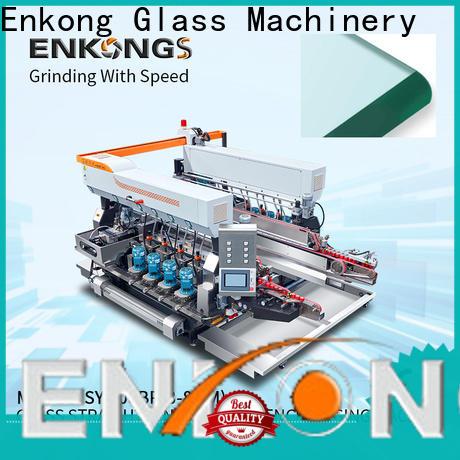 Enkong straight-line small glass edge polishing machine company for household appliances