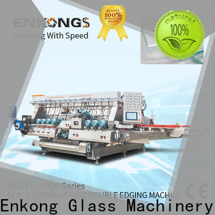 Top glass double edger machine SYM08 suppliers for household appliances