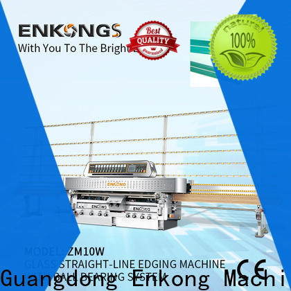 High-quality steel glass making machine price 45° arrises company for grind