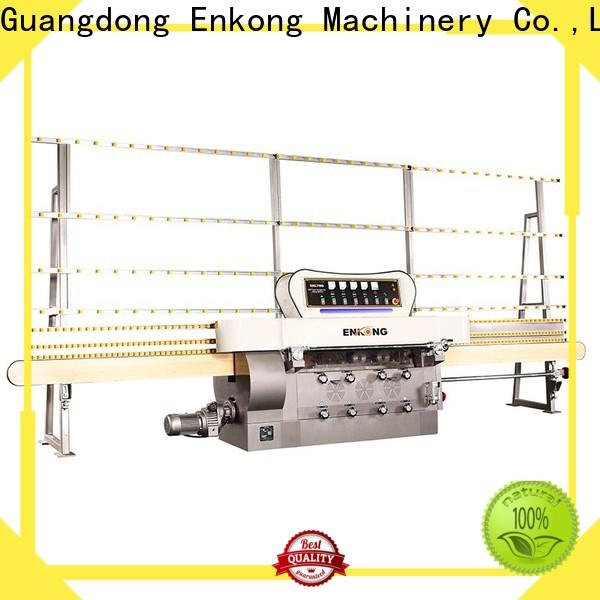 Enkong zm11 glass edge polishing machine manufacturers for round edge processing