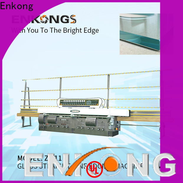 Enkong Wholesale glass cutting machine price manufacturers for round edge processing