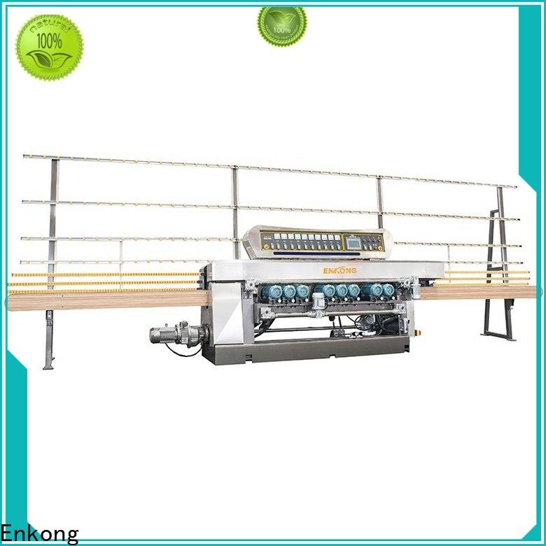 Enkong xm351 glass straight line beveling machine manufacturers for glass processing
