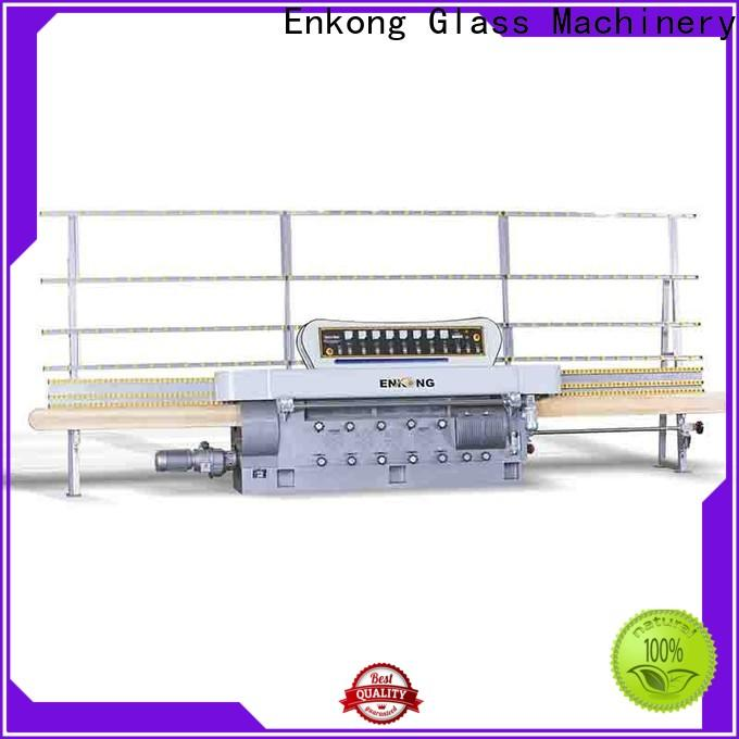 Enkong zm9 glass cutting machine for sale supply for round edge processing