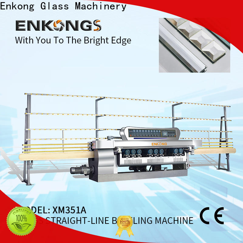 Latest glass beveling machine manufacturers 10 spindles factory for polishing