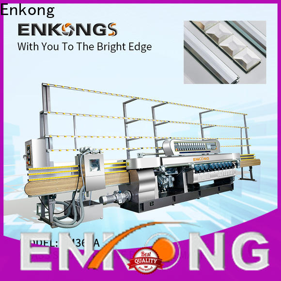 Enkong Latest small glass beveling machine company for glass processing