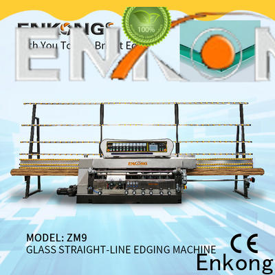 Enkong Top glass grinding machine factory for photovoltaic panel processing