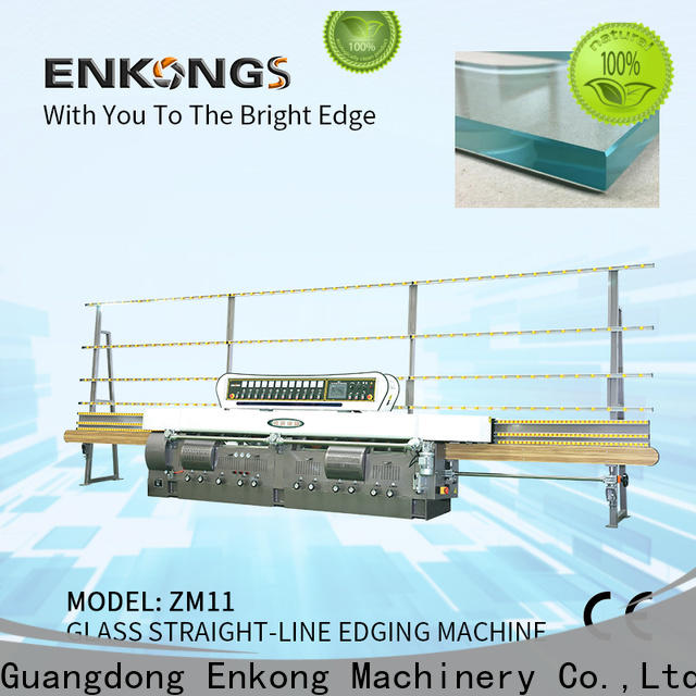 Enkong zm11 portable glass edge polishing machine manufacturers for round edge processing