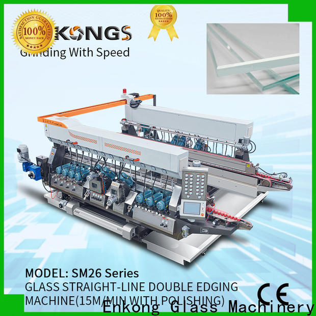Enkong Wholesale glass double edger for business for photovoltaic panel processing