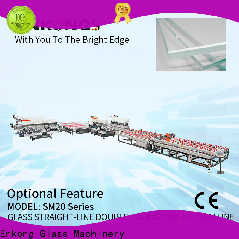 Wholesale automatic glass edge polishing machine SM 10 for business for round edge processing