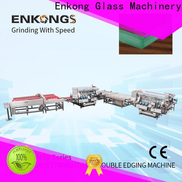 Enkong New automatic glass cutting machine for business for round edge processing