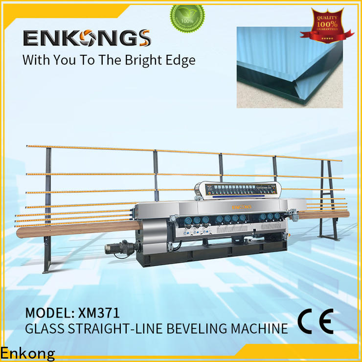 Enkong Latest glass straight line beveling machine suppliers for polishing