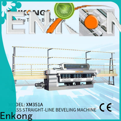High-quality small glass beveling machine xm371 for business for glass processing