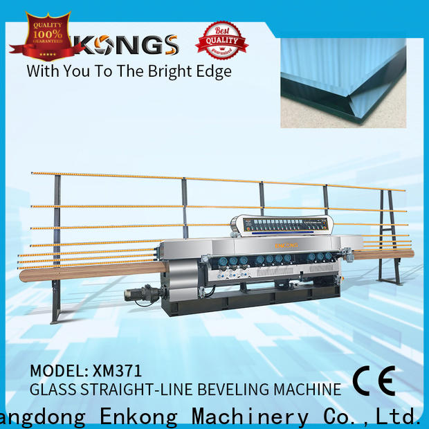 Enkong High-quality glass straight line beveling machine suppliers for polishing