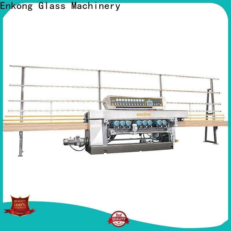 Enkong xm351a glass beveling machine price company for polishing