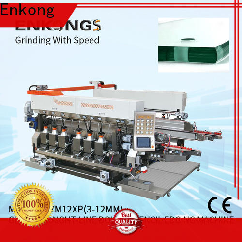 Top double glass machine SYM08 company for round edge processing