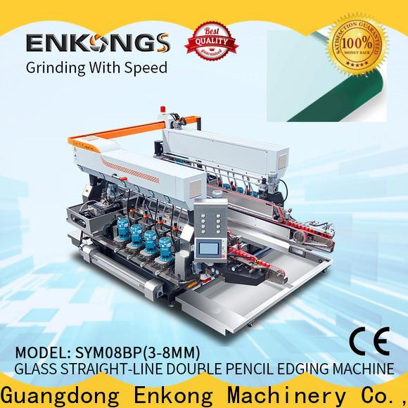 Enkong SM 12/08 automatic glass edge polishing machine supply for household appliances