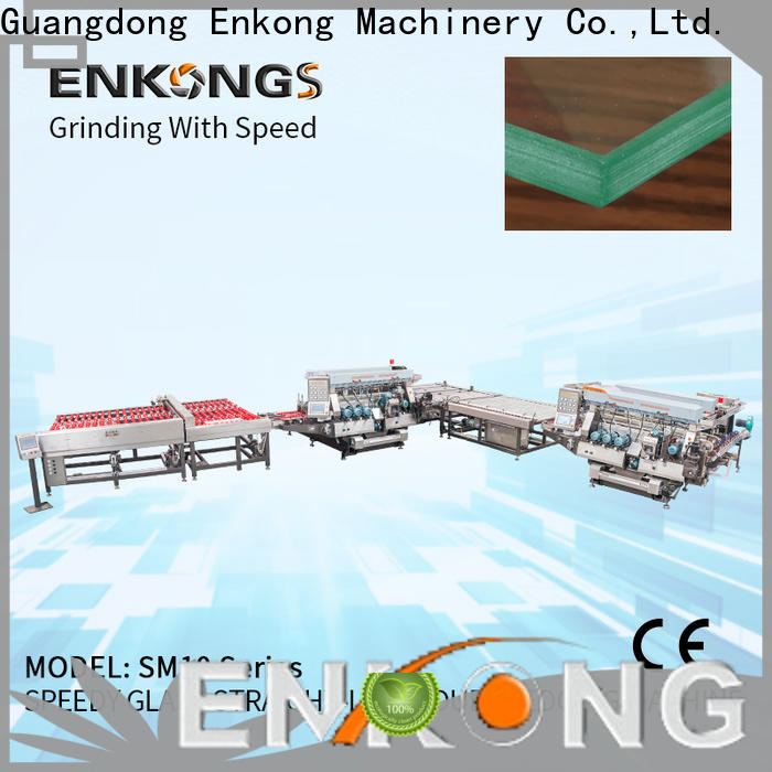 Enkong SM 20 glass edging machine suppliers company for photovoltaic panel processing