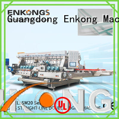 Enkong quality glass double edger series for photovoltaic panel processing