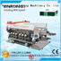 Enkong cost-effective glass double edging machine manufacturer for round edge processing