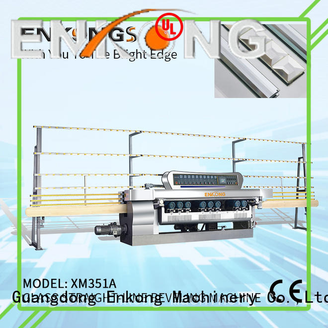 Enkong efficient glass beveling machine manufacturer for polishing