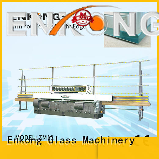 Enkong top quality glass edge polishing machine wholesale for fine grinding