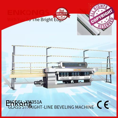 Enkong efficient glass beveling machine manufacturer for polishing