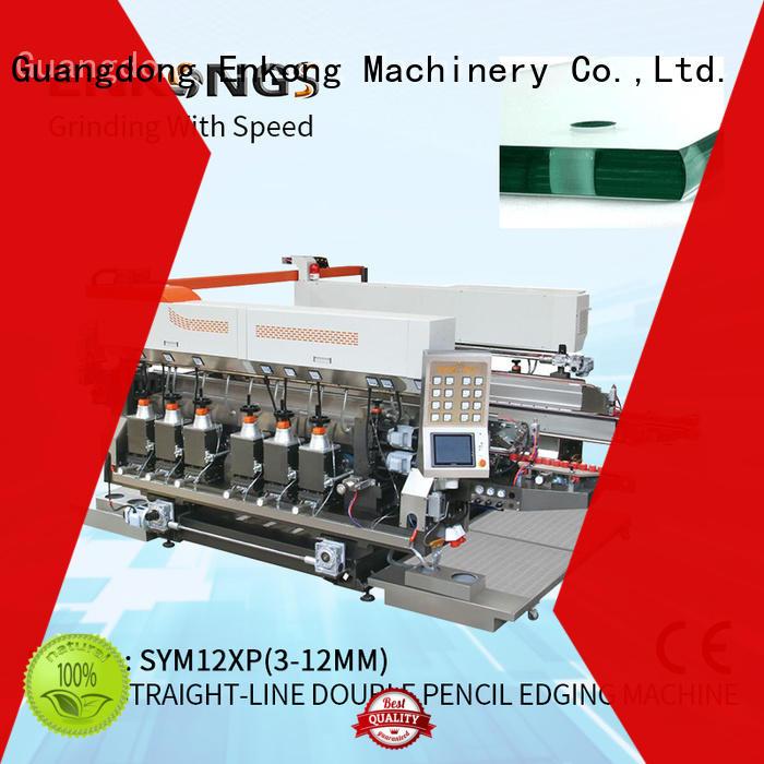 Enkong SM 20 double edger supplier for photovoltaic panel processing