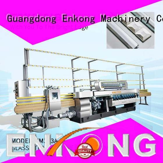 Enkong efficient glass beveling machine for sale wholesale