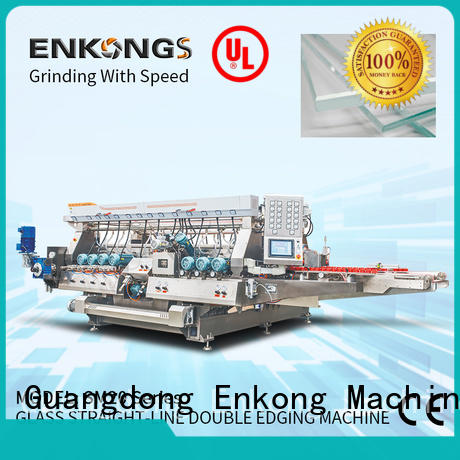 Enkong cost-effective double edger machine supplier for round edge processing
