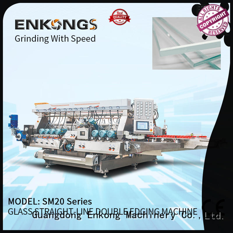 Enkong SM 10 double edger wholesale for photovoltaic panel processing