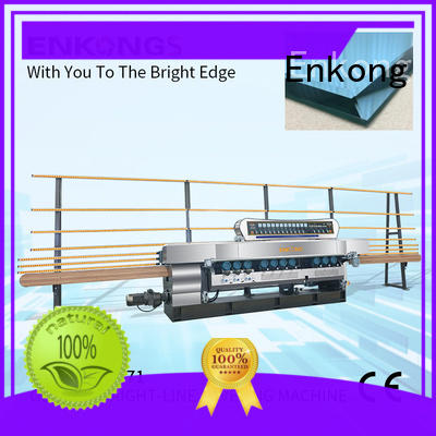 Enkong xm351a glass beveling machine for sale factory direct supply