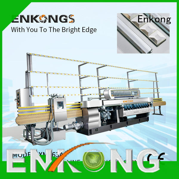 cost-effective glass beveling machine 10 spindles series