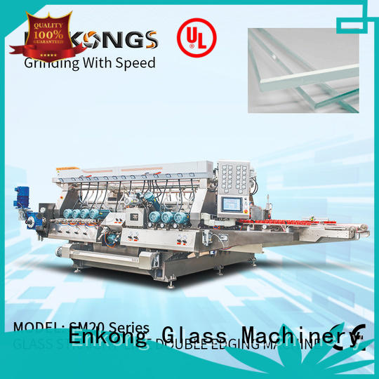 Enkong SM 12/08 double edger supplier for photovoltaic panel processing