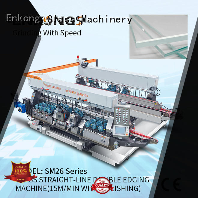 Enkong high speed double edger machine wholesale for round edge processing