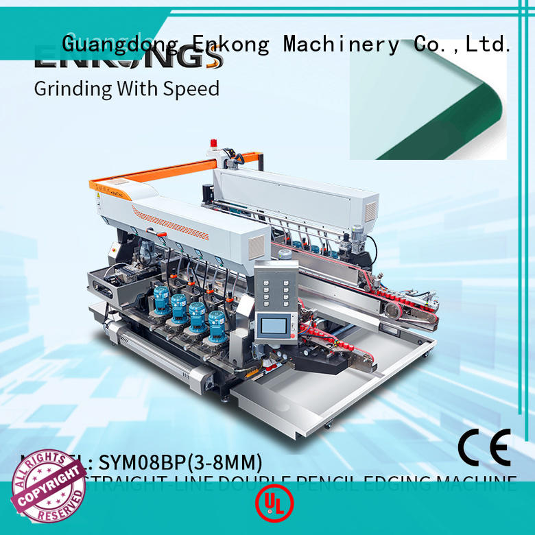 Enkong SYM08 glass double edging machine series for household appliances