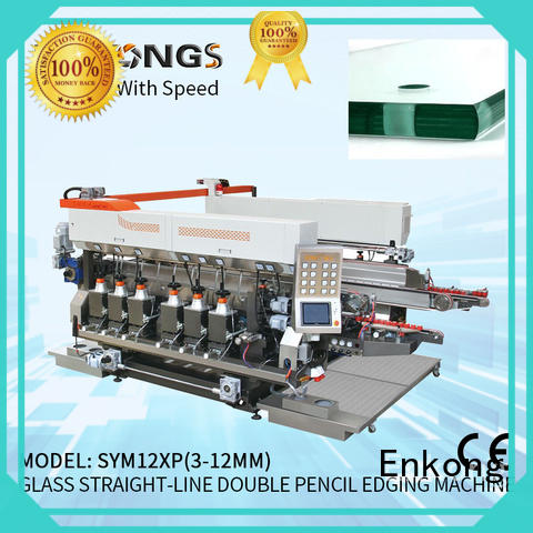 Enkong quality double edger machine supplier for round edge processing
