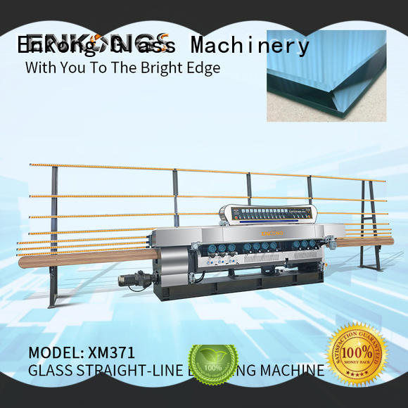 Enkong long lasting glass beveling machine for sale factory direct supply for glass processing
