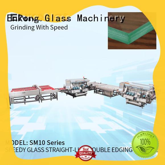 Enkong SM 10 double edger supplier for photovoltaic panel processing