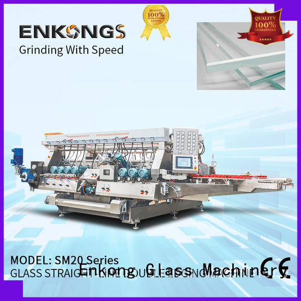 Enkong real double edger series for round edge processing