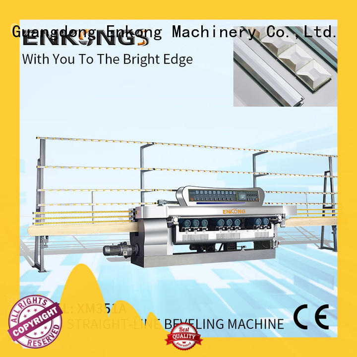 Enkong xm363a glass beveling machine series for glass processing