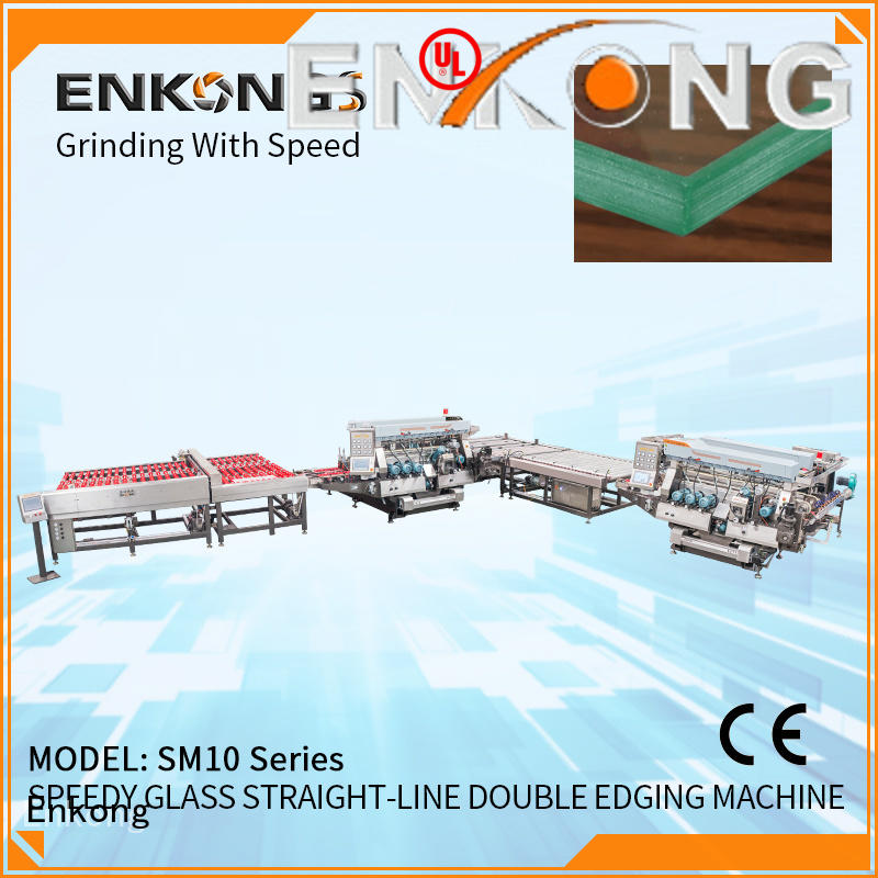 Enkong SYM08 double edger machine series for photovoltaic panel processing