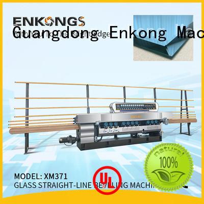 Enkong real glass beveling machine series
