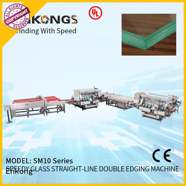 Enkong straight-line double edger manufacturer for photovoltaic panel processing