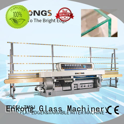 Enkong professional glass mitering machine manufacturer for grind