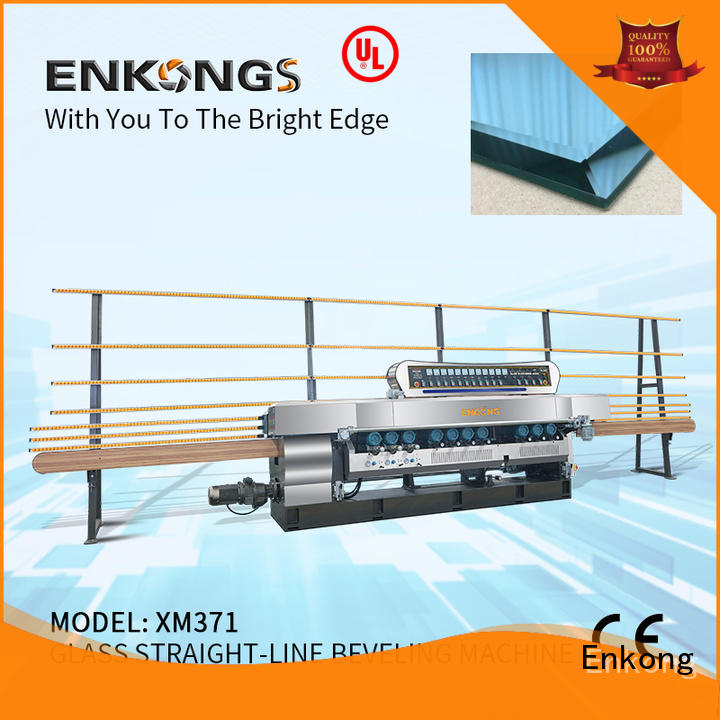 Enkong efficient glass beveling machine wholesale for polishing